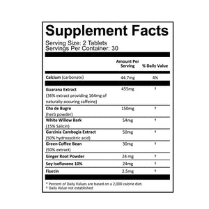 Daily Buzz Supplement Facts