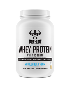100% Whey Protein Isolate - Vanilla Ice Cream