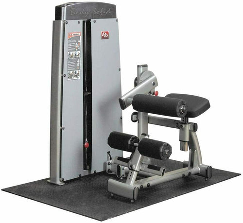 Body-Solid Pro Dual Ab and Back Machine w/ Adjustable Roller