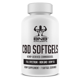 CBD Hemp Oil Extract (Full Spectrum) Softgels - 7 Day Trial