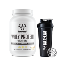 Load image into Gallery viewer, Cake Batter Whey Protein & Shaker Cup