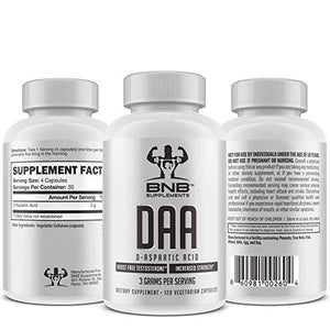 D-Aspartic Acid - DAA - Twin Pack