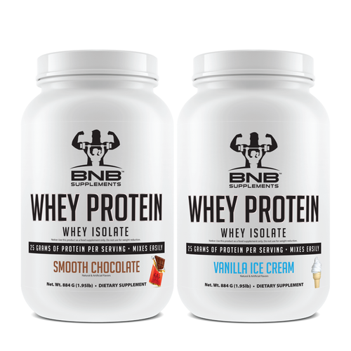 Smooth Chocolate & Vanilla Ice Cream Whey Protein Isolate