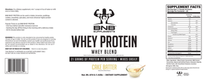 Cinnamon Roll & Cake Batter Whey Protein