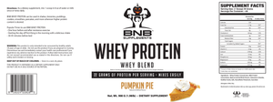100% Whey Protein - Pumpkin Pie