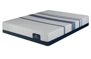 Queen Mattress Serta iComfort Foam  Blue Max 1000 Cushion Firm - Mattress First USA