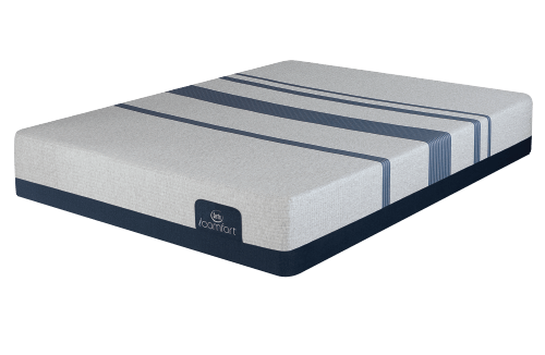 Queen Mattress Serta iComfort Foam Blue Max 3000 Elite Plush