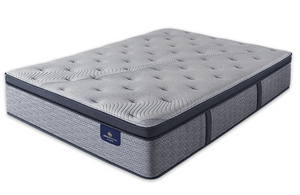 Queen Mattress Serta Perfect Sleeper Hybrid  Standale II Plush Pillow Top - Mattress First USA