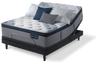 King Mattress Serta iComfort Hybrid  Blue Fusion 1000 Luxury Firm Pillow Top