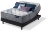 King Mattress Serta iComfort Hybrid  Blue Fusion 3000 Plush