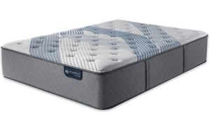 Queen Mattress Serta iComfort Hybrid  Blue Fusion 3000 Plush - Mattress First USA