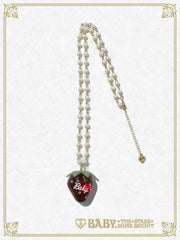 B41AC020 Strawberry Necklace
