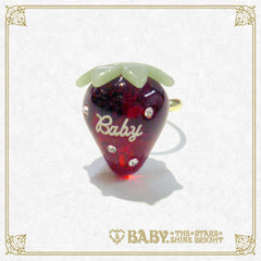 B41AC021 Strawberry Ring