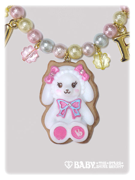 B42AC003 Kumya chan's Sugar Baby Icing Cookie Necklace