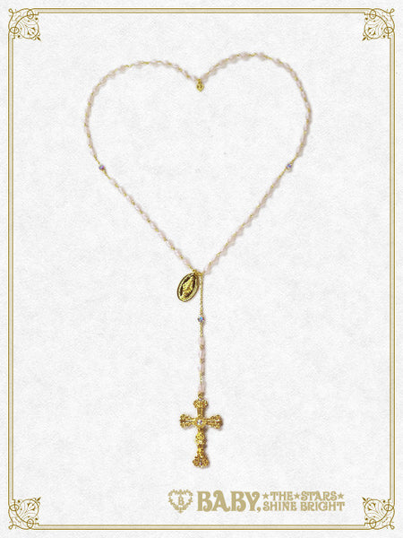 B41AC034 St.Mary Holy Card Necklace