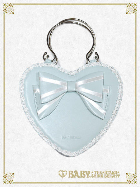 B41BG810 Ribbon Heart Bag