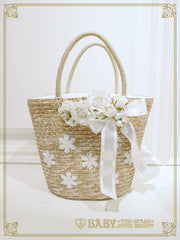 B41BG818 Sweet Rose Basket Bag