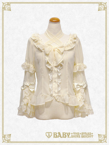 B41BL406 Chiffon Princess Dress Blouse