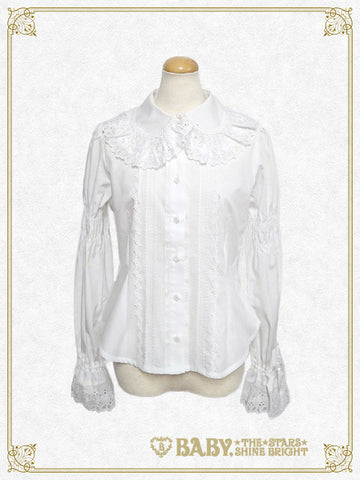 B41BL407 Back Pintucked Blouse