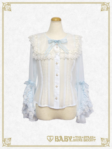 B41BL412 St.Mary Holy Card Blouse