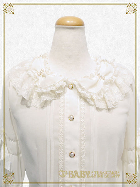 B41BL416 A Rose ~A Single Rose Locked Inside the Glass Dome~ Blouse