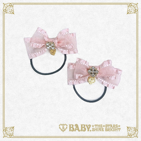 B41HA657 Mini Frill Ribbon Hair Band