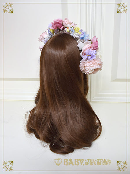 [RESERVATION] B41HA987 Princess Rapunzel Dolly Flower Head Dress