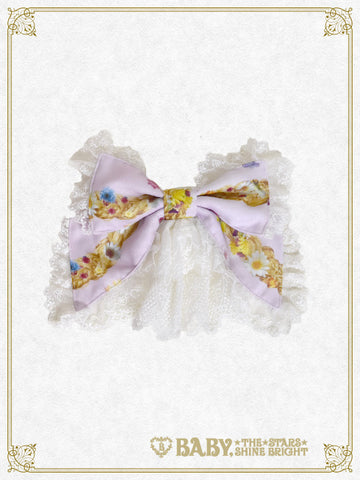 B41OH920 Princess Rapunzel ~ Floral Garland of the Magical Hair ~ Barrette