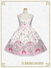 B41OJ208 Heart Marguerite ~ Love Secret in my Heart ~Pattern Jumperskirt Ⅱ