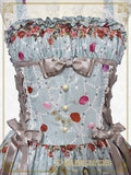 B41OJ223 Lady Victorian Rose Jewelry ~ A Wish on the Rose Petals ~ Long Jumperskirt