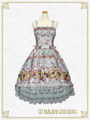 [RESERVATION] B41OJ223 Lady Victorian Rose Jewelry ~ A Wish on the Rose Petals ~ Long Jumperskirt