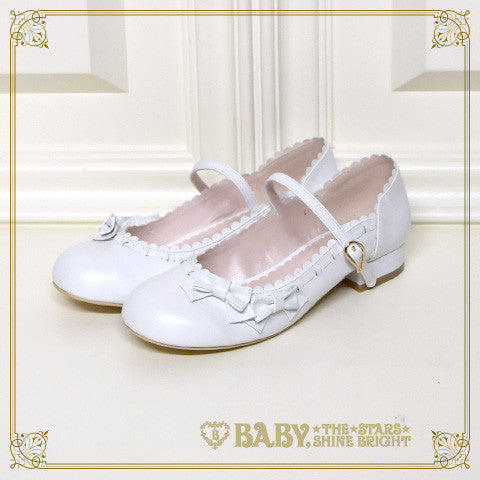 B41SH861 Petit Ribbon Shoes