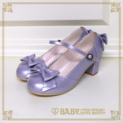 B41SH878 Antique Ribbon Shoes