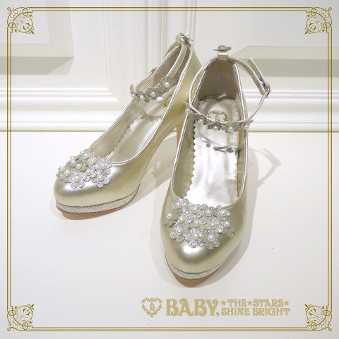 B41SH882 Flower Secret Pumps