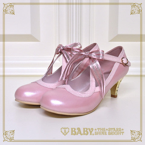 B41SH886 Heart Milky Way Pumps
