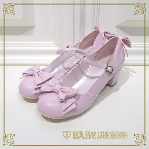 B41SH887 Antique Ribbon Shoes