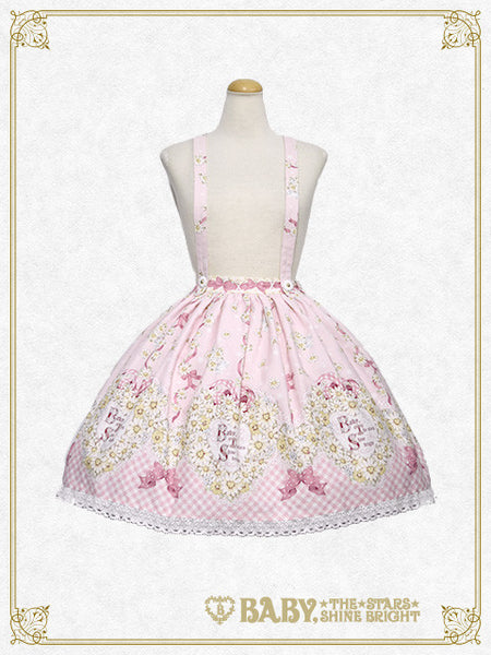 B41SK509 Heart Marguerite〜The Secret Love Hidden Inside My Heart〜 Skirt
