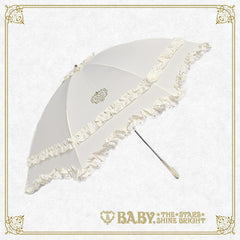 B41UM873 BABY Frill Folding Umbrella
