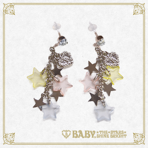 B42AC033 Le Ciel Étoilé ~Night Sky's Gift~ Pierced Earrings