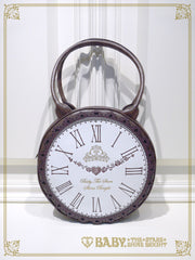 B42BG801 Alice's Big Clock Bag