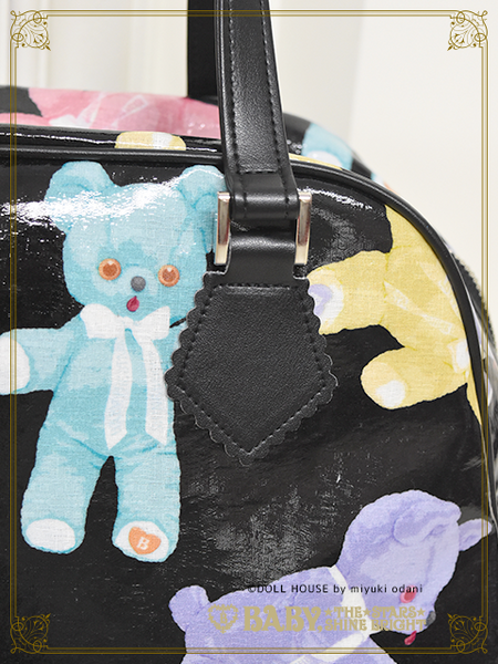 B42BG814 Dancing BABY Bear Boston Bag