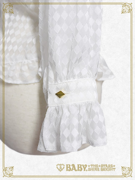 B42BL402 Haru chan's Alice in the Looking-Glass World Alice Blouse