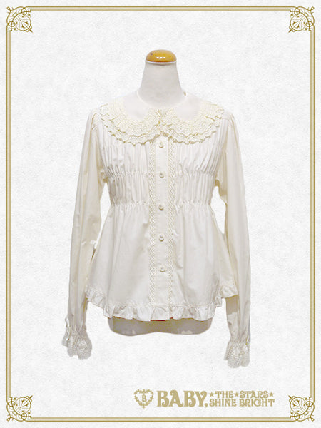 B42BL406 Baby Doll Blouse