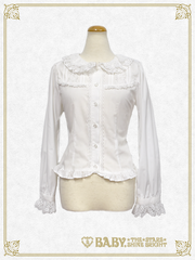B42BL435 Alice & Bambi Lace Collar Blouse