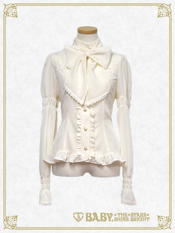 B42BL436 Alice & Bambi Stand Collar Blouse