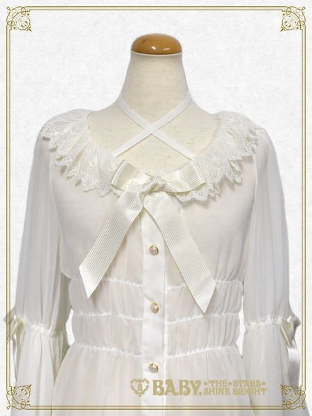 B42BL439 Bichon Cirque Princess Sleeve Blouse