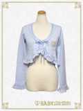 B42BO104 BABY Heart Embroidered Bolero