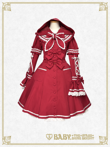 B42CO357 Little Red Riding Hood Onepiece Dress