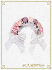 B42HA903 Le Bouquet Éternel Rose Head Bow