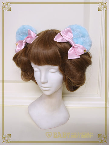 [RESERVATION] B42HA906 Lillian Bear Ear Hair Clip